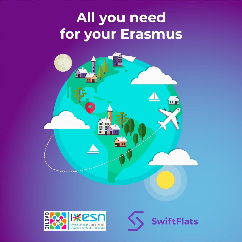 Colaboración SwiftFlats con ESN Bilbao